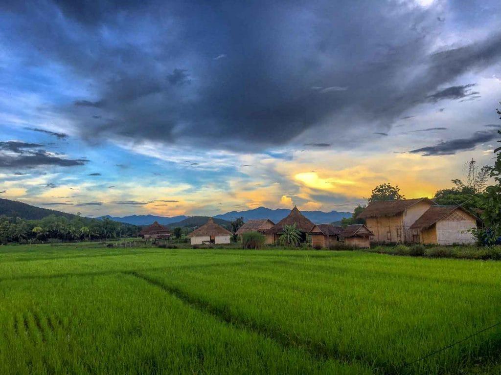 Mala Dhara Yoga Retreat Center hosts yoga retreats in Chiang Mai Thailand.