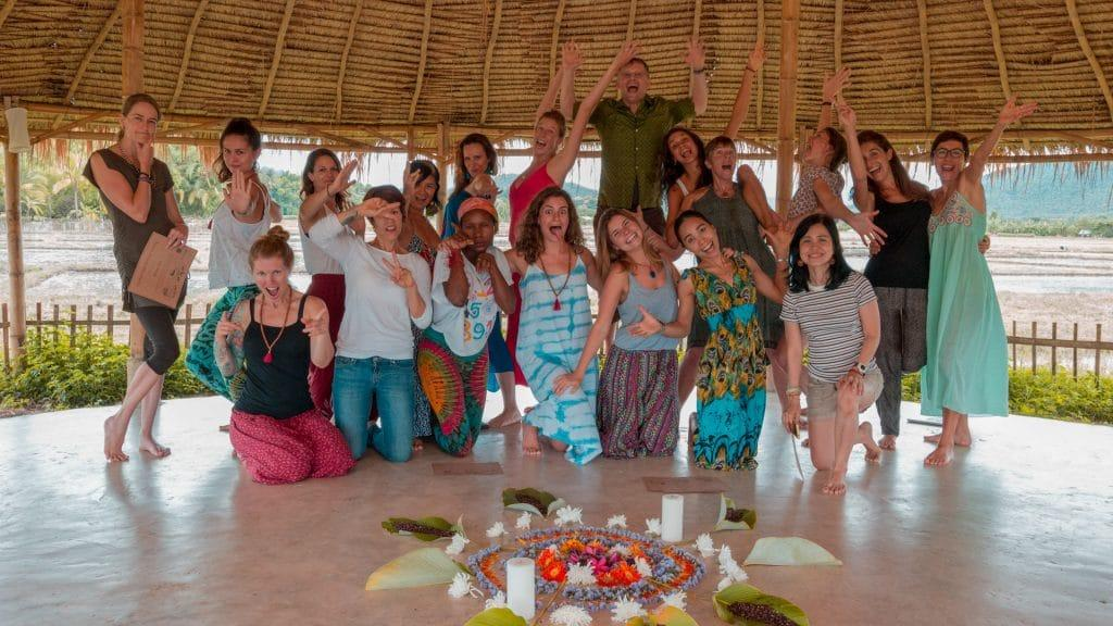 Pranaya Wild Rose Yoga Teacher Training Chiang Mai Thailand