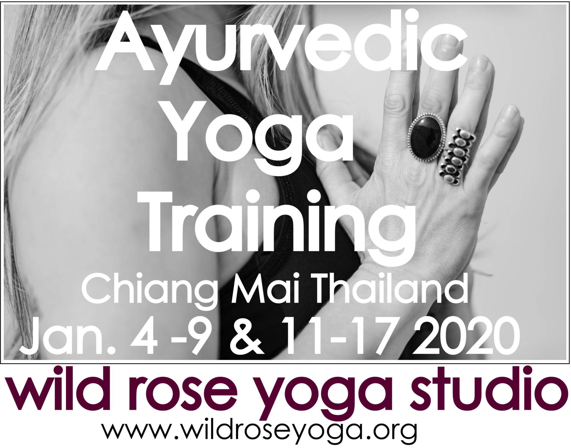AYURVEDIC YOGA FOUNDATIONS IMMERSION COURSE I