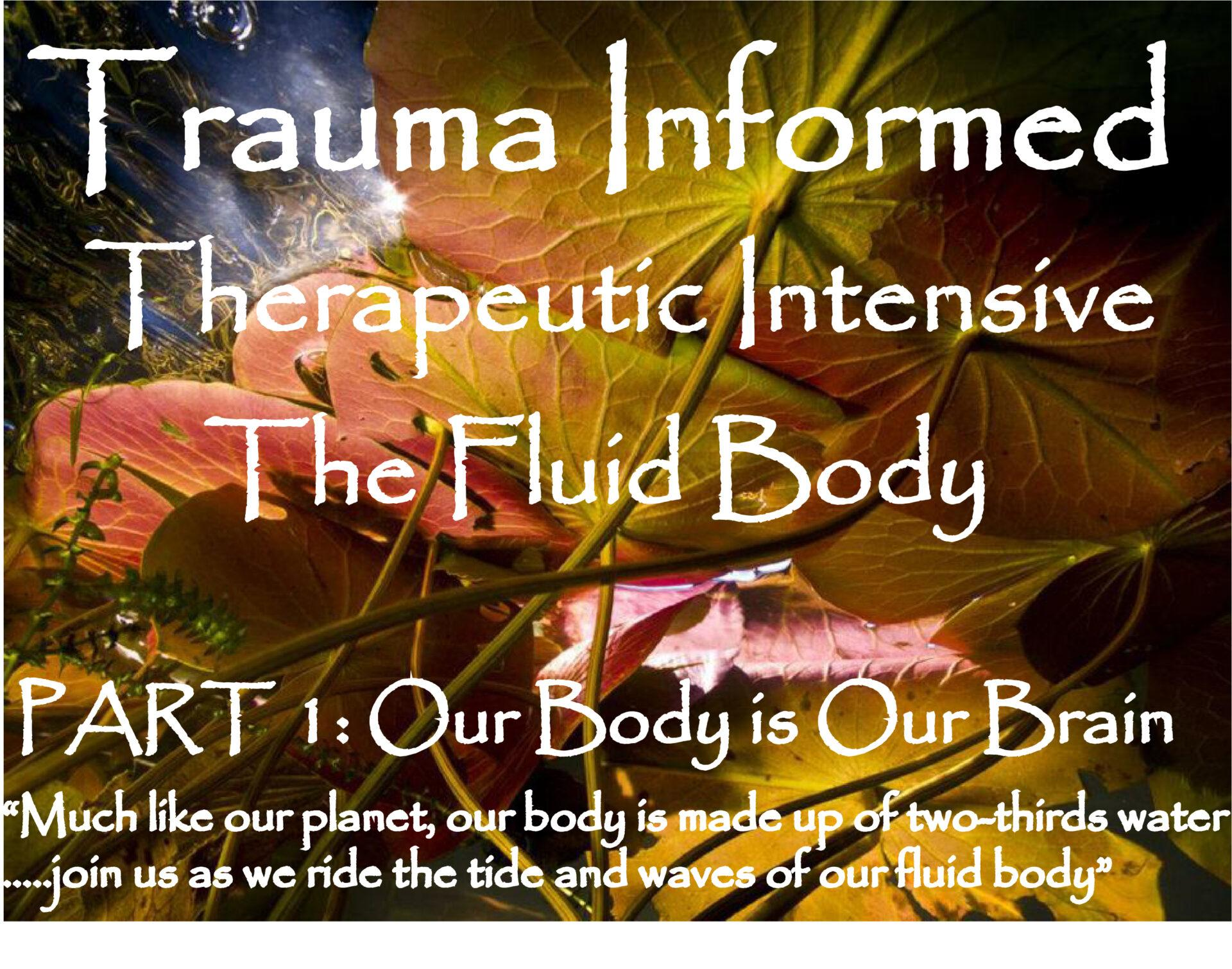TRAUMA INFORMED THERAPEUTIC YOGA INTENSIVE