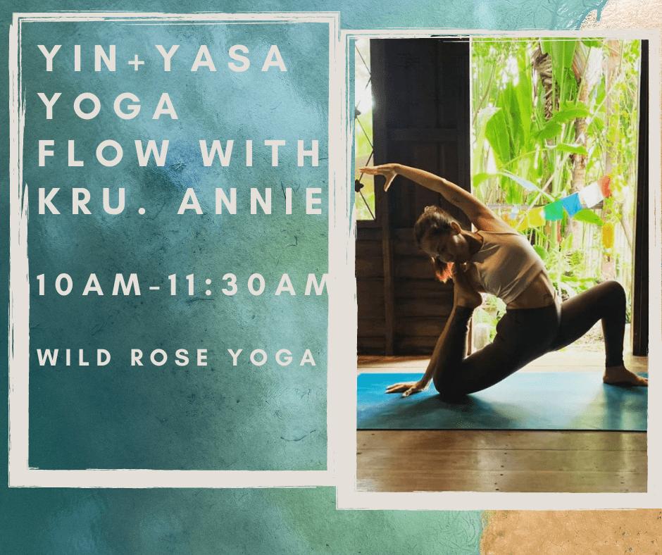 Yin-Yasa Yoga with Kru. Annie