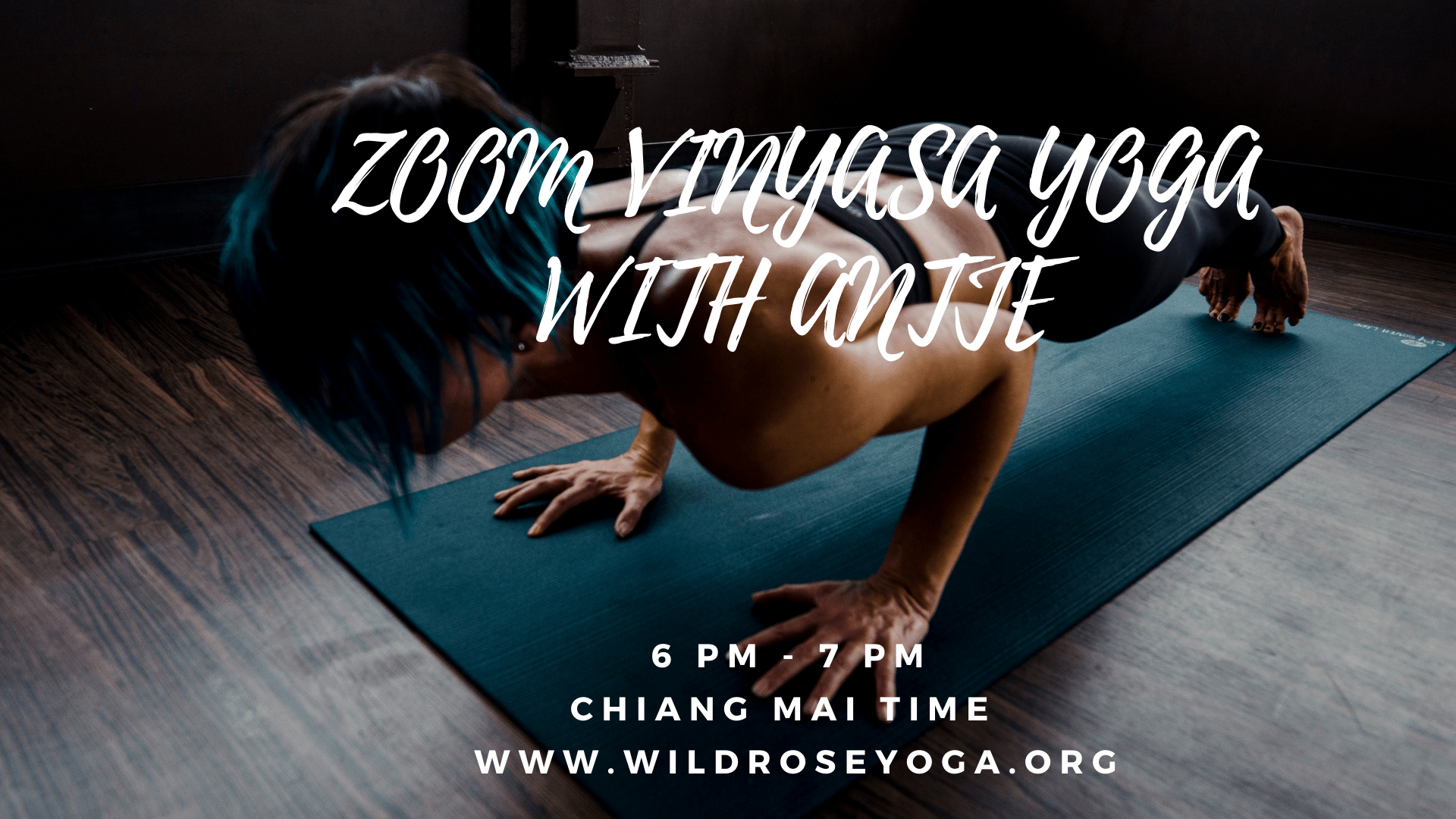 ZOOM LIVE STREAM VINYASA YOGA FLOW with Antje