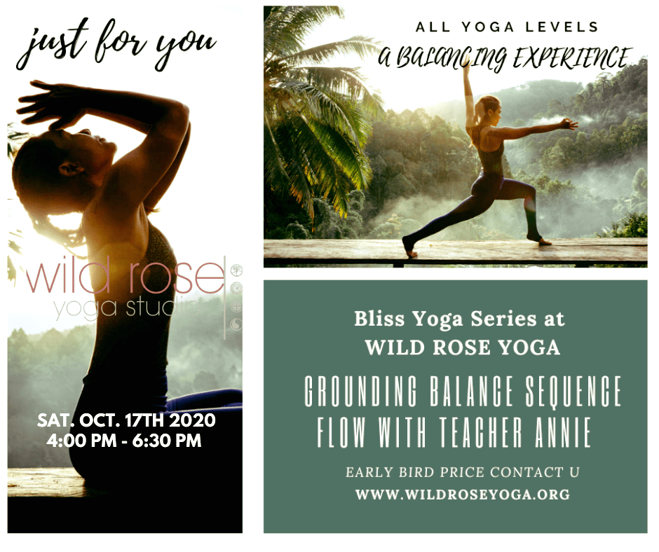Bliss Yoga Series Workshop Balancing Sequence Wild Rose Yoga Studio Chiang Mai Oct. 2020