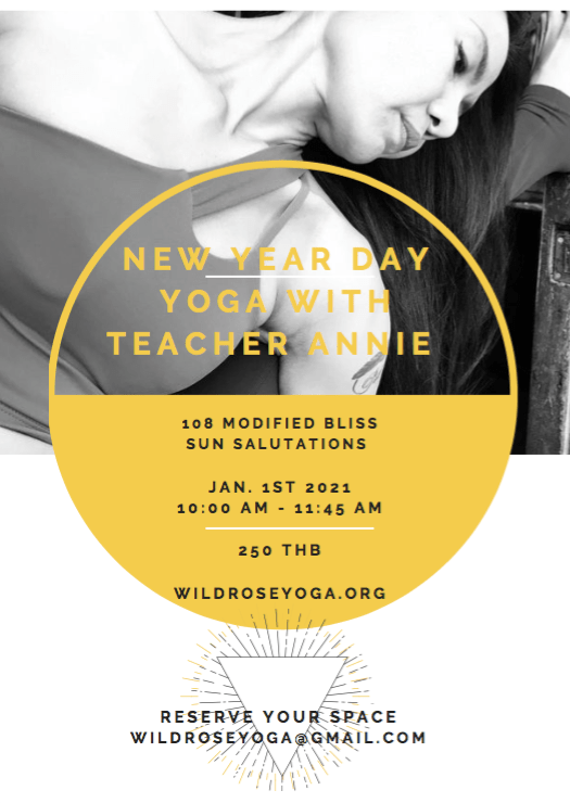 New Year Day 108 Modified Sun Salutations with teacher Annie