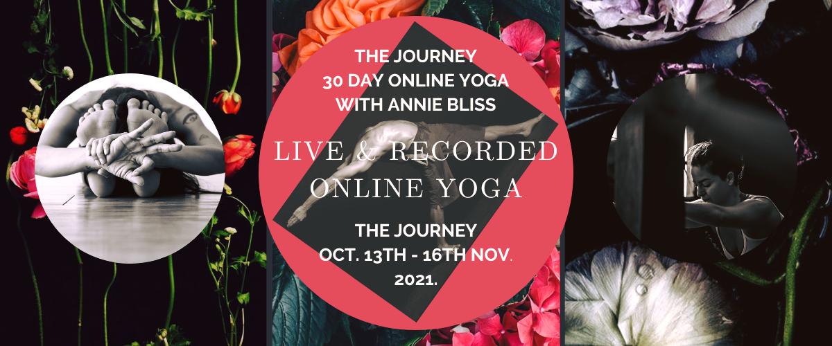 Online Yoga Class Chiang Mai Thailand Oct.-Nov. 2021